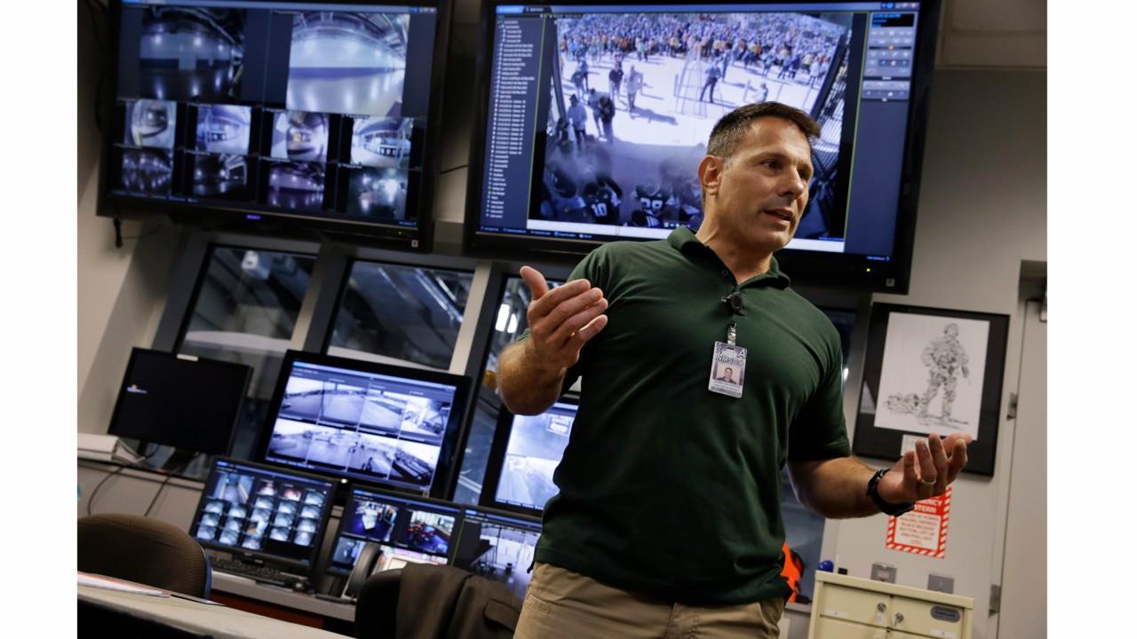 Art Monitoring System : Metlife stadium s state of the art video surveillance