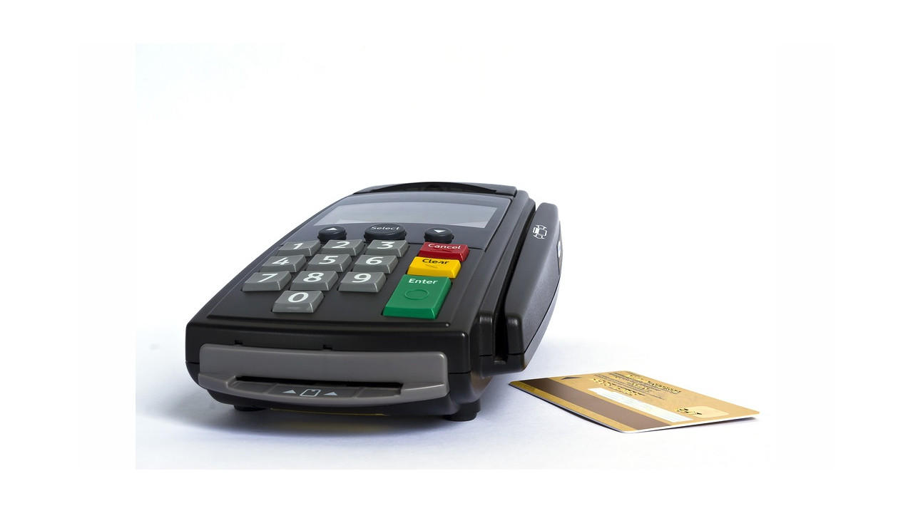 credit card stealing machine