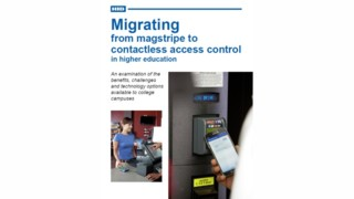Migrating from magstripe to contactless access control in higher education