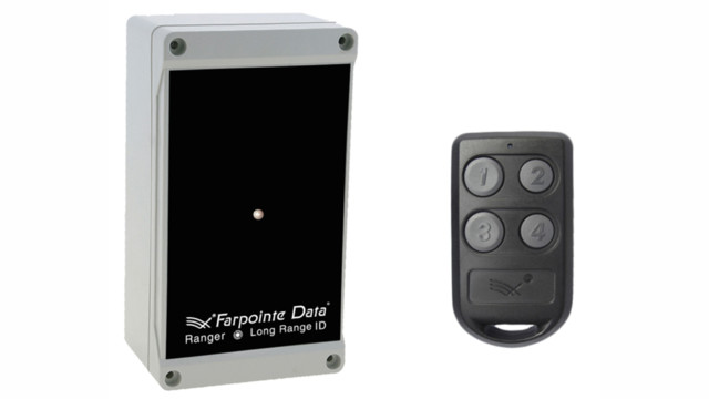 Farpointe's Ranger WRR-22 and WRR-44 Long Range Identification Receivers