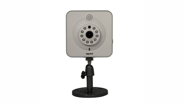 Legrand's On-Q Indoor IR HD Desk/Wall Mount IP Camera and  On-Q Outdoor IR HD Bullet IP Camera