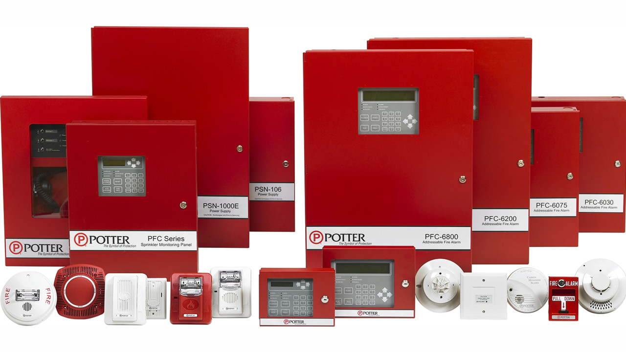 Potter S Pfc 6000 Series Fire Alarm Control Panels