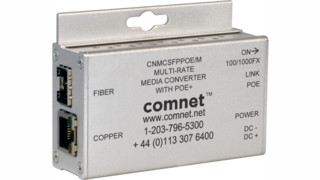 ComNet's CNMCSFP Electrical-to-Optical Media Converter