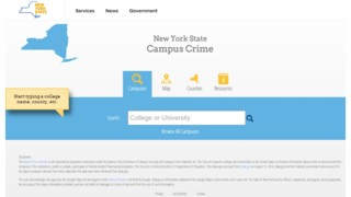 NY officials unveil new website that tracks crime on college campuses statewide