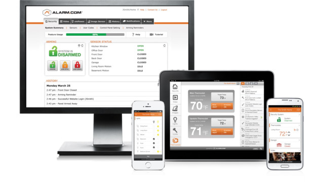 Alarm.com acquires Secure-i