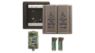 Camden Door Controls' Lazerpoint RF Wireless Vestibule Switch Packages