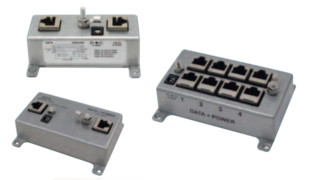 Cat6, 5e and 5 PoE Injectors
