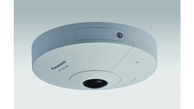 Panasonic's i-PRO ULTRA 360-Degree Panoramic Camera