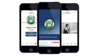 Bosch Remote Security Control app
