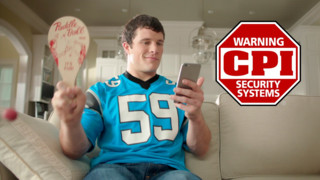 What if Luke Kuechly was your personal assistant - CPI Security Super Bowl ad