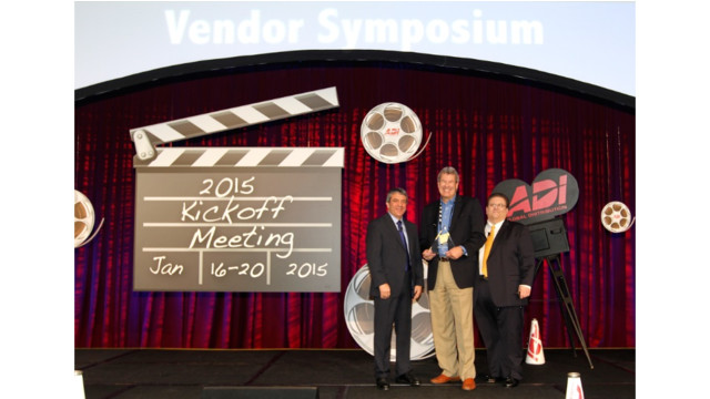 ADI announces 2014 Vendor Award recipients