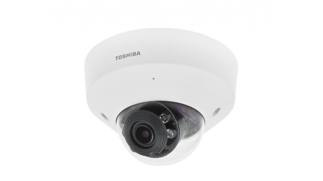 Toshiba's IK-WR31A and IK-WD31A 3-Megapixel IP Dome Cameras