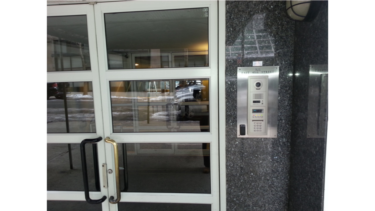 Intercom In Nyc High Rise Enhances Security
