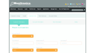 Monitronics Dealer Portal