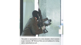 3M Security Window Films and Attachment Systems