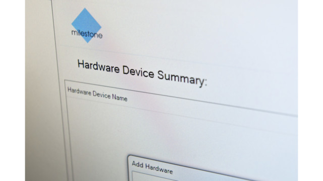 Device Pack 7.8 for Milestone XProtect