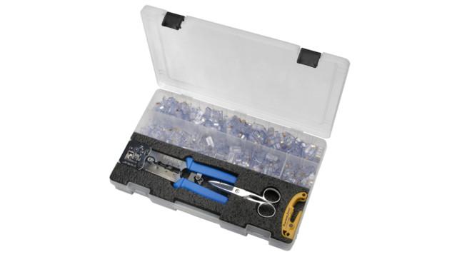 Platinum Tools' EZ-RJPRO Termination Pod
