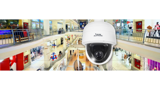 Vivotek's SD8161 Indoor Speed Dome Network Camera