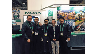 Moxa unveils rugged 360 PTZ dome IP camera at ISC West