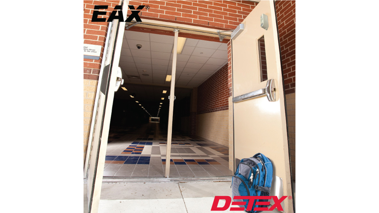 Detex Battery Operated Door Prop Alarm Securityinfowatch Com