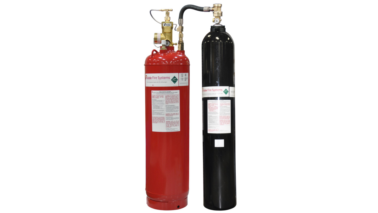 Clean Agent Fire Suppression System From Kidde Fire Systems