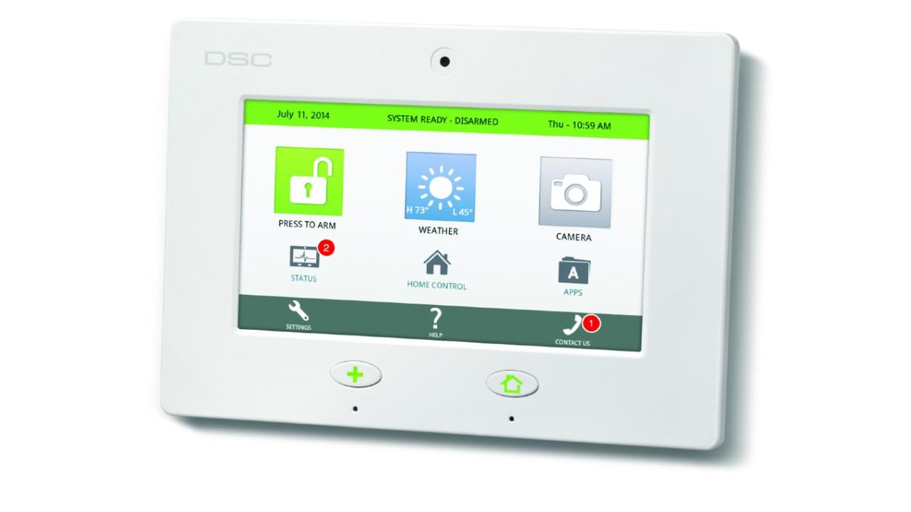 Dsc Touch Alarm Panel Securityinfowatch Com