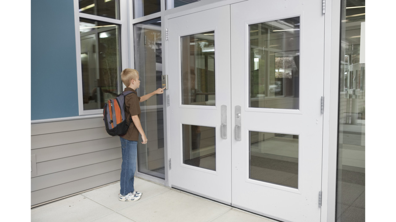School Front Door. School Front Door T
