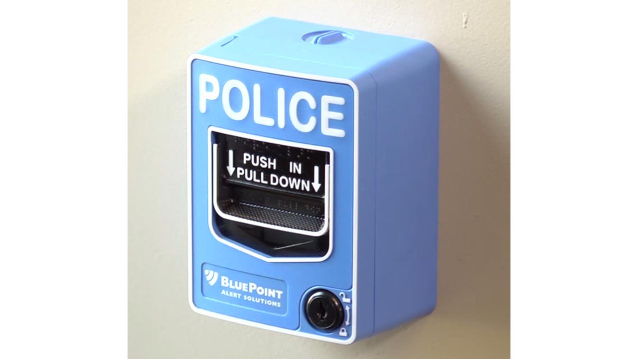 Bluepoint Pull Station Alert Rapid Emergency Response