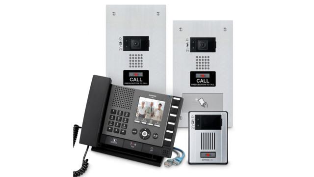 K 12 access control begins at the front door for Front door video intercom