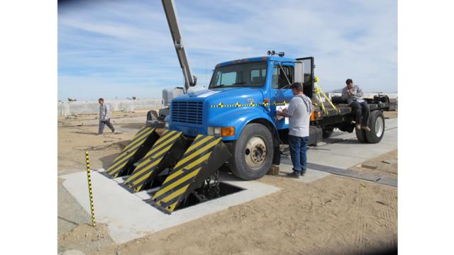 Barricade Vehicle Tractors : Delta s newest em controlled anti terrorist barrier