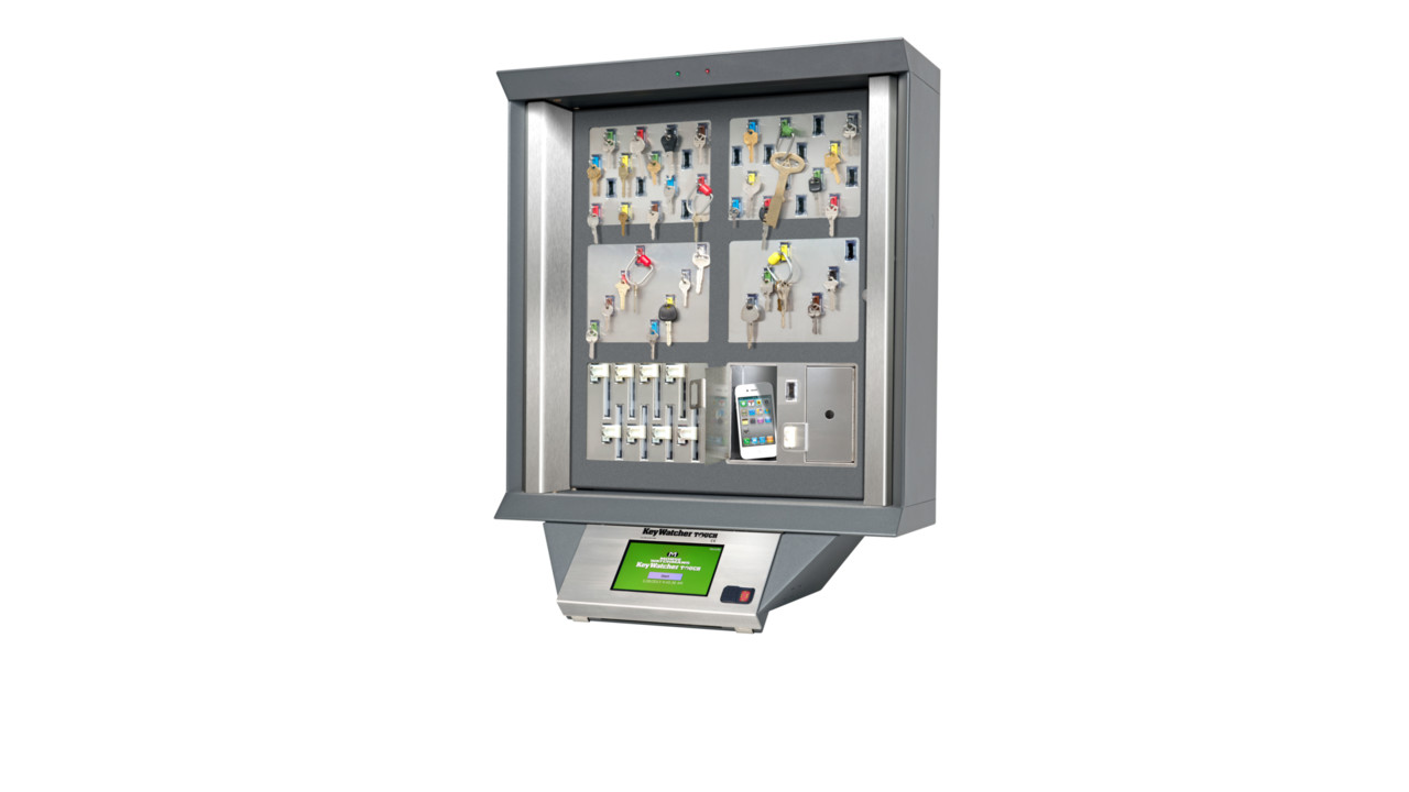 Morse Watchmans Keywatcher Touch Key Control Cabinet