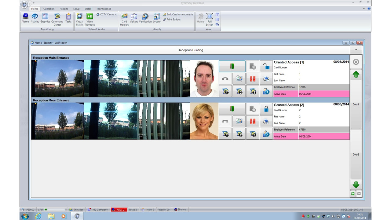 Amag Technology Symmetry V8 1 Access Control Software