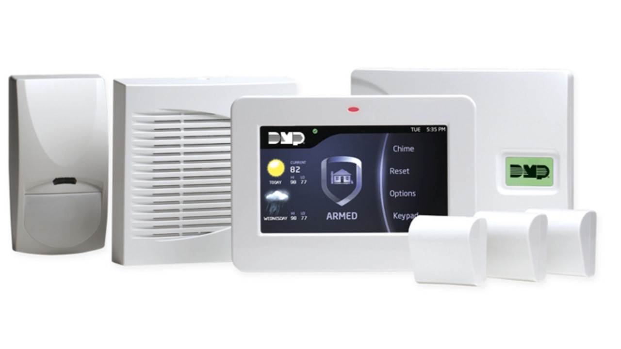 Xtlplus Wireless Burglary Control Panel From Dmp