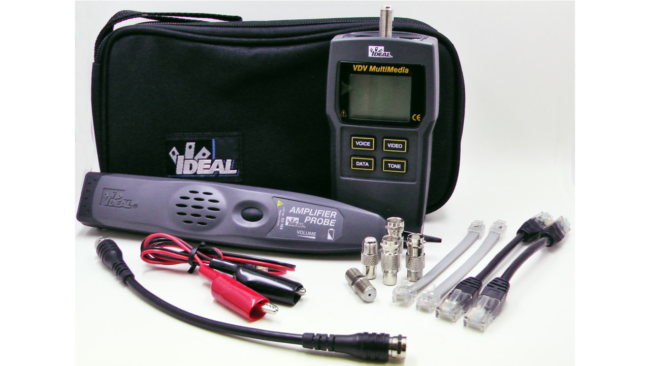 Ideal test tone trace kit for Security camera placement tool