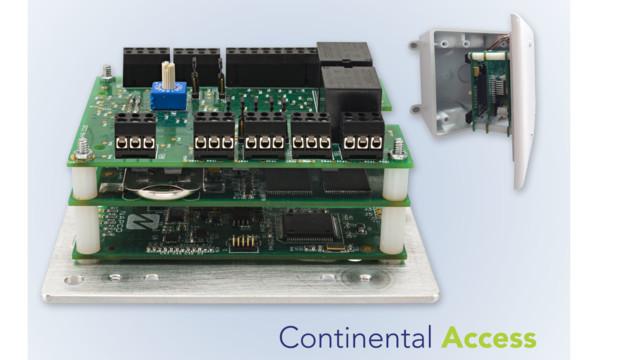 POE Controller 57b4915e46406  sc 1 st  SecurityInfoWatch.com & Continental Access CICP2100 uniVerse Single Door Controller