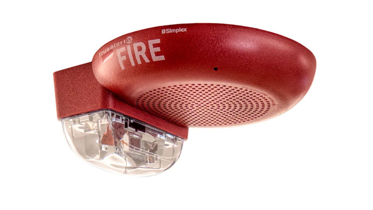 Simplex Truealert Es Audio Speakers Securityinfowatch Com