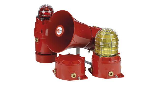 Alarm Annunciators Speakers Sirens Strobes