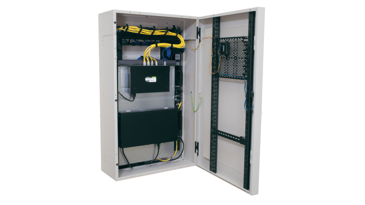 Vwm Vertical Wall Cabinet From Middle Atlantic Products