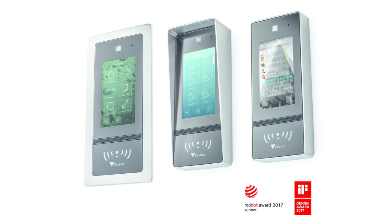 Paxton Access Net2 Entry Touch Panel Securityinfowatch Com