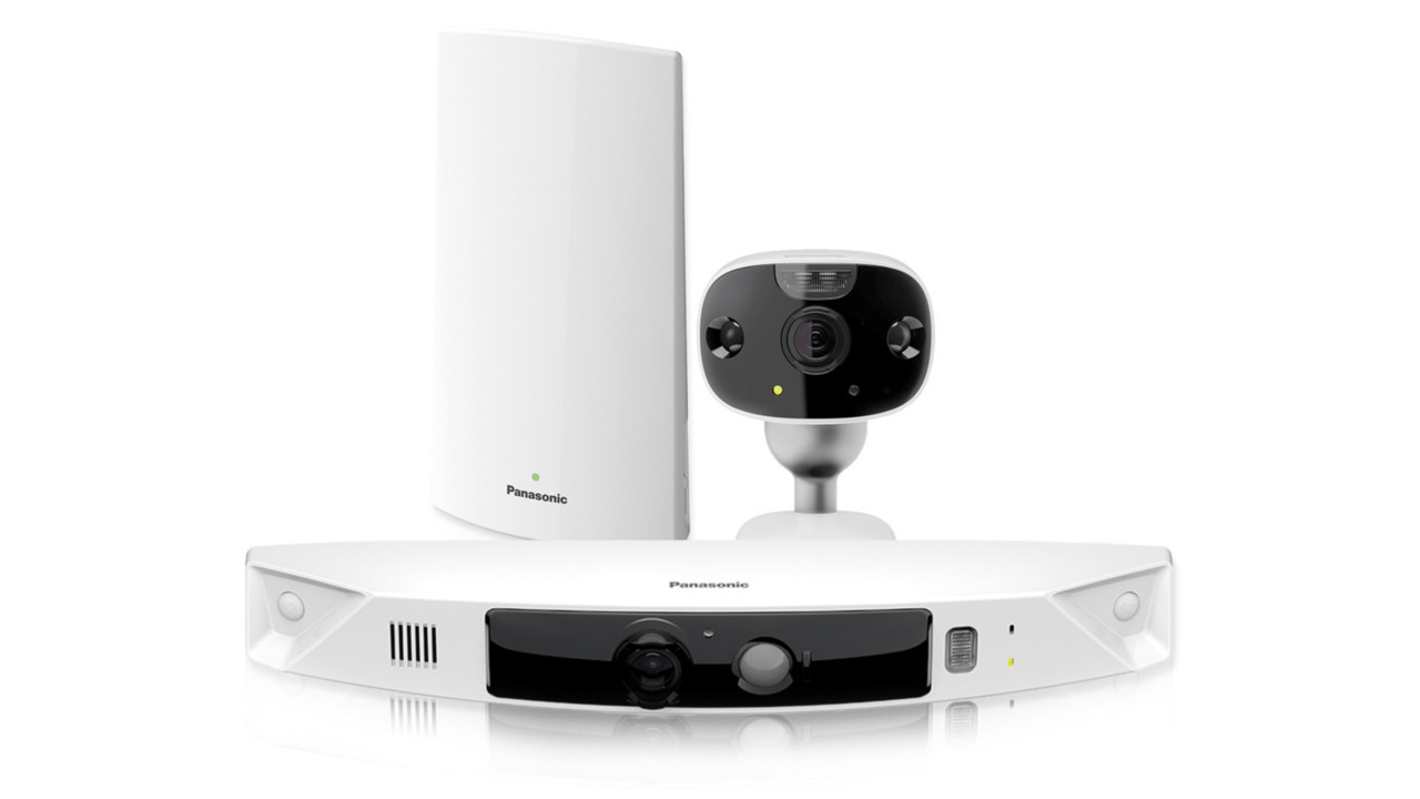 Home Monitoring System : Panasonic s homehawk hd remote home monitoring system