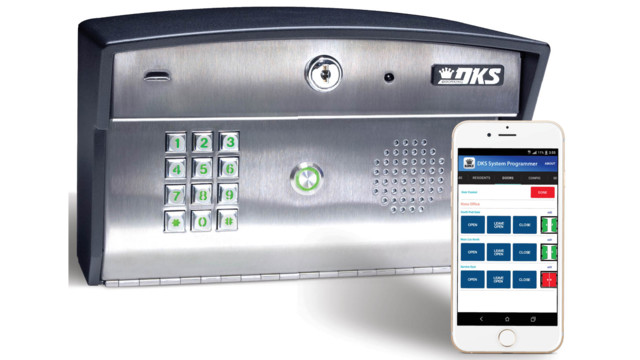 from DoorKing Inc. 1812i app 5a95d16360f6d  sc 1 st  SecurityInfoWatch.com & DoorKing 1812i residential telephone entry system