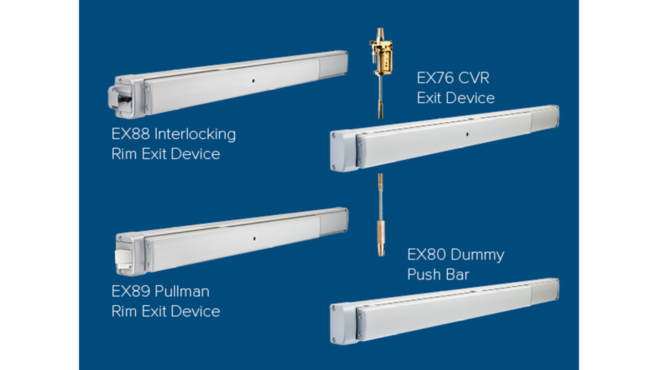 Adams Rite Ex Series Exit Devices Securityinfowatch Com