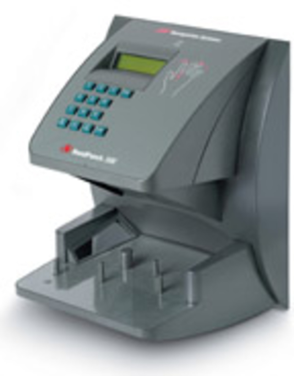 New Biometric Time and Attendance Terminal from Recognition Systems