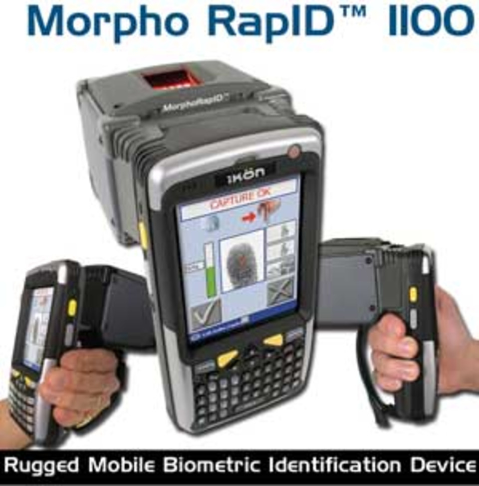 Sagem Morpho launches new mobile biometric ID device