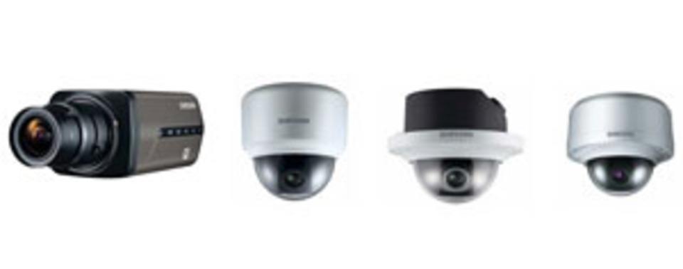 Samsung releases ONVIF compliant megapixel cameras