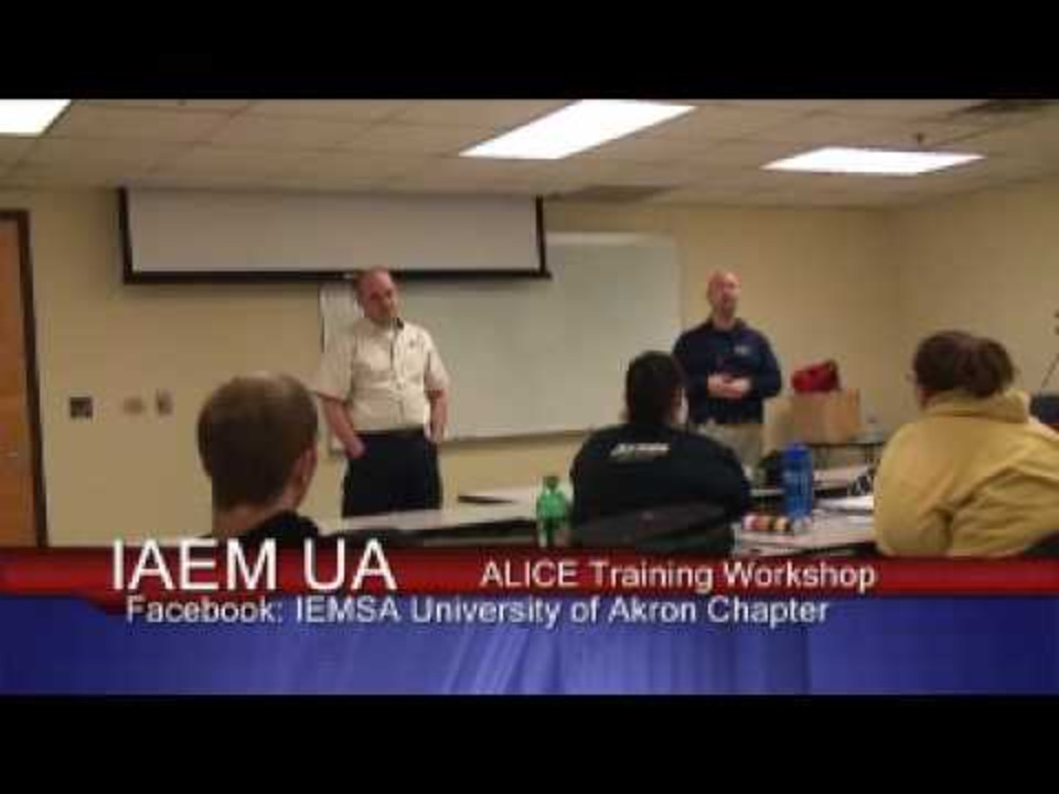 A L I C E Training For Active Shooters On Campus