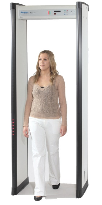 Rapiscan Systems Metor 6S Walk Through Metal Detector From