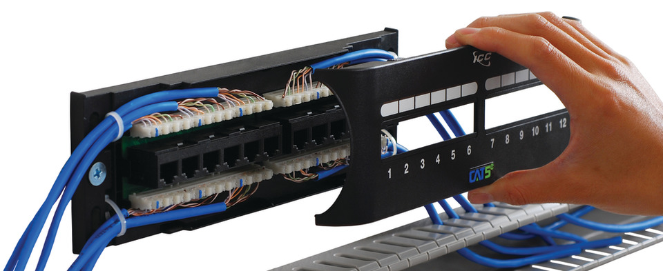 ICC Front Access Zero U Patch Panels in Networking Equipment ... on