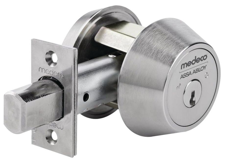 Medeco High Security Locks Medeco Maxum Residential Deadbolt