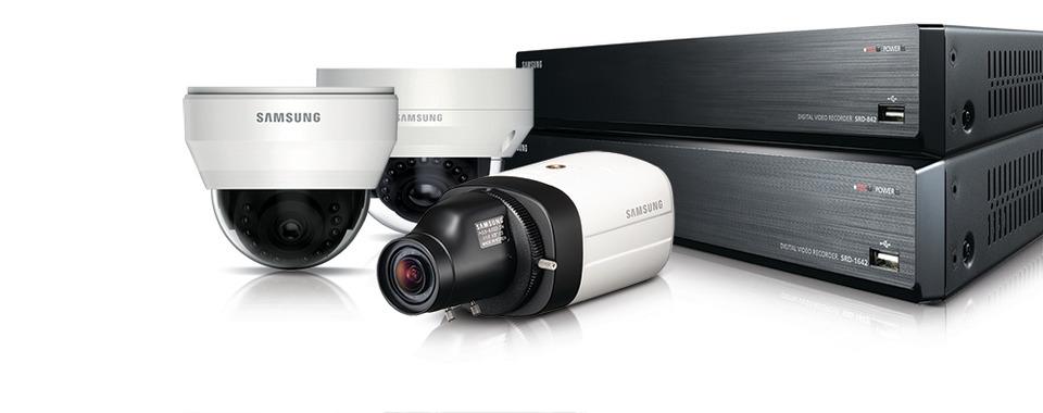 Hanwha Techwin America Samsung's 1280H High-Resolution Analog Camera